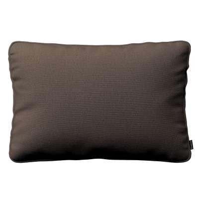 Poszewka Gabi na poduszkę prostokątna 705-08 brązowy Kolekcja Etna