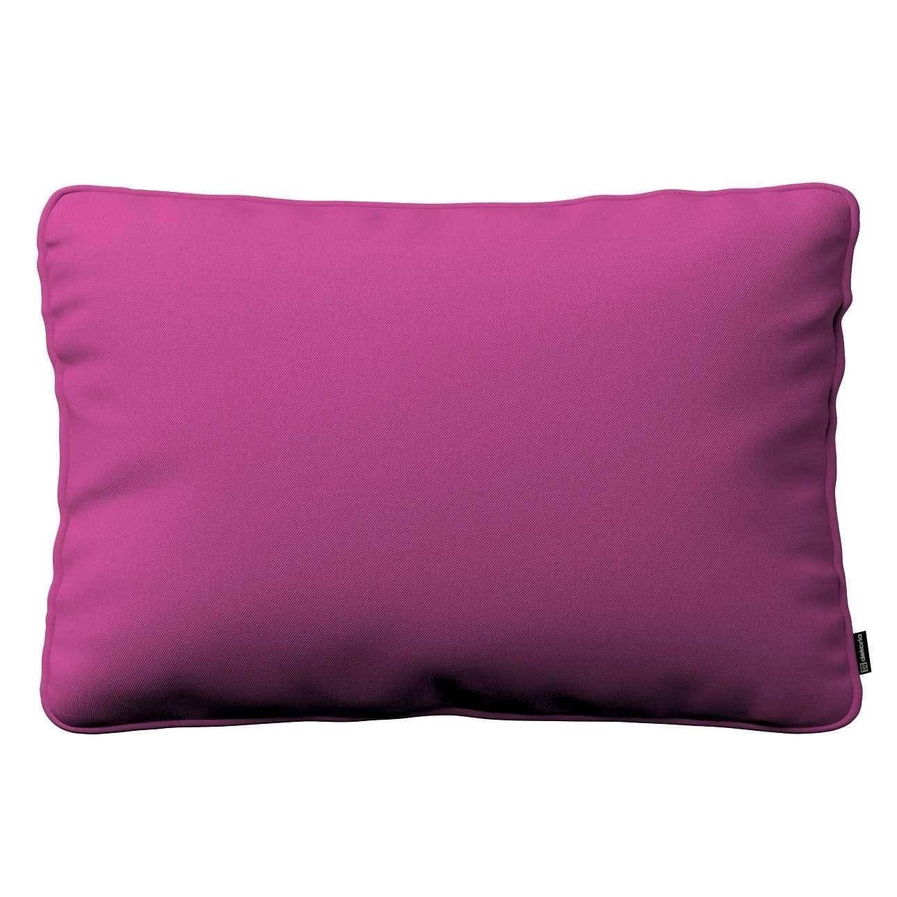 Kissenhülle Gabi mit Paspel 60x40cm, amarant, 60 × 40 cm, Etna | Heimtextilien > Bettwäsche und Laken > Kopfkissenbezüge | Dekoria