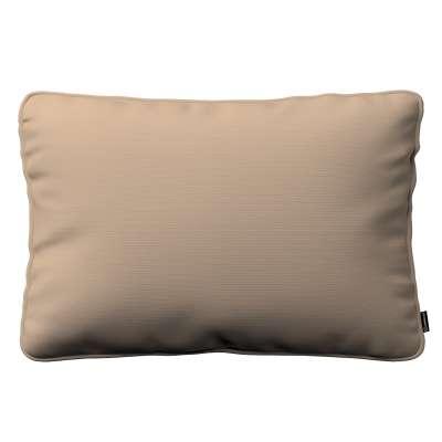 Pudebetræk<br/>Gabi med kant 60x40cm 702-28 Sandfarvet Kollektion Cotton Panama