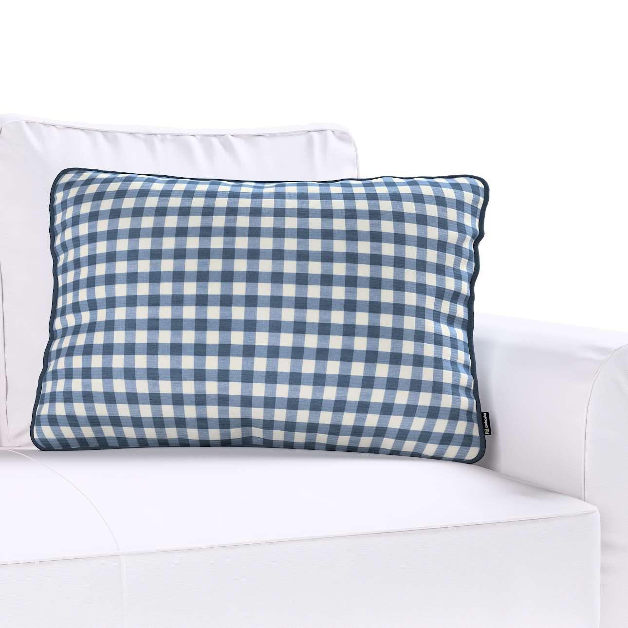 Poszewka Gabi na poduszkę prostokątna w kolekcji Quadro, tkanina: 136-01