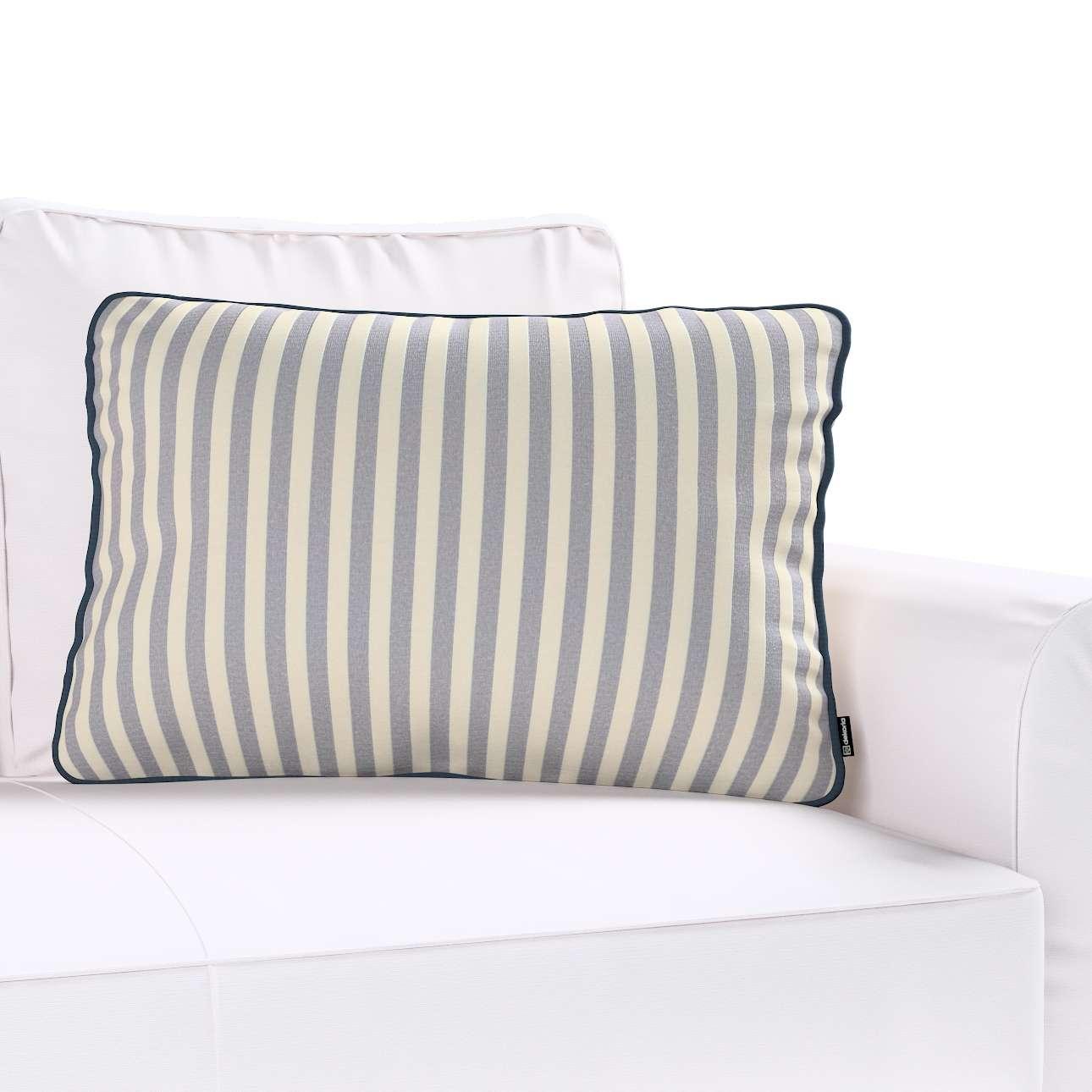 Poszewka Gabi na poduszkę prostokątna w kolekcji Quadro, tkanina: 136-02