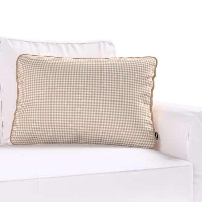 Poszewka Gabi na poduszkę prostokątna w kolekcji Quadro, tkanina: 136-05