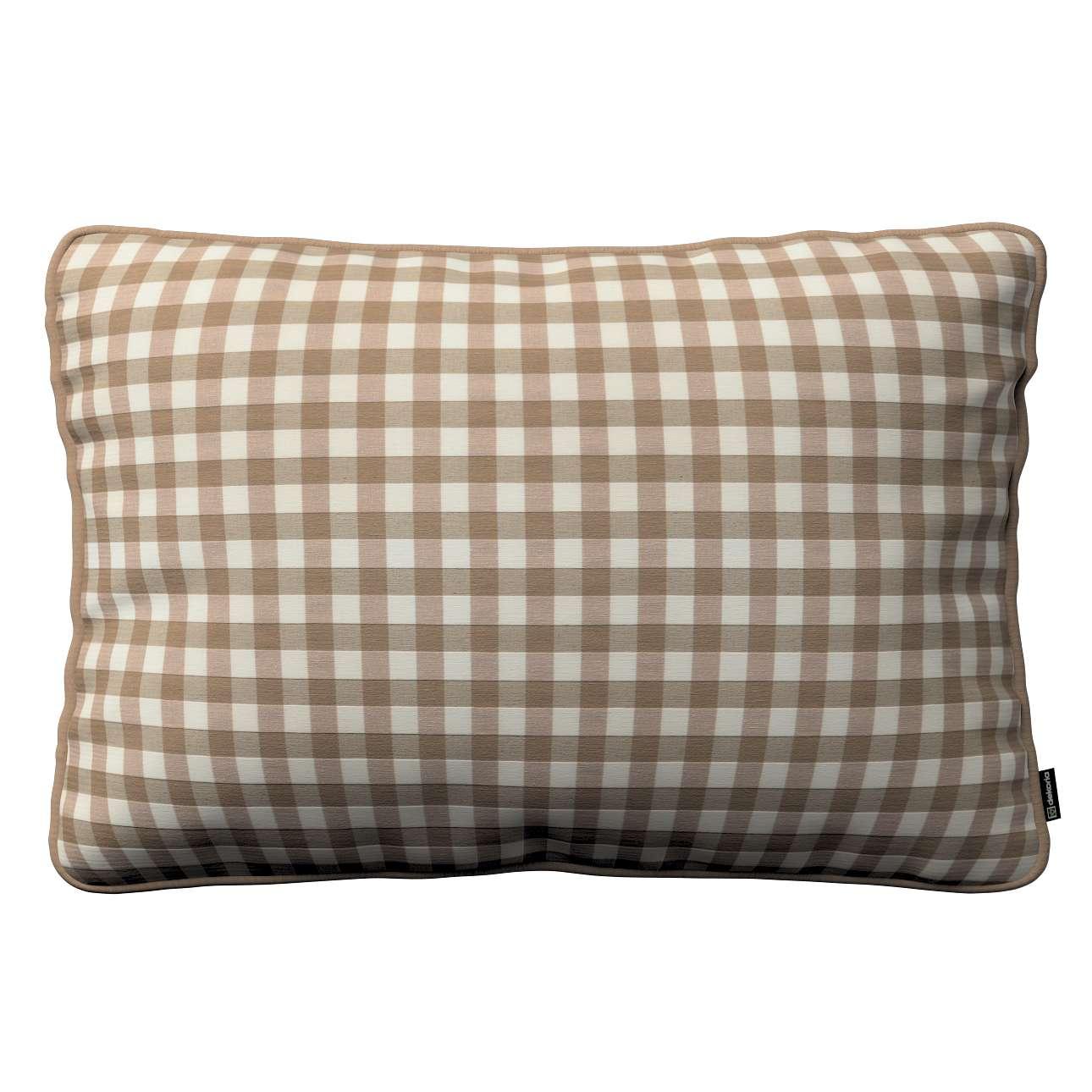 Poszewka Gabi na poduszkę prostokątna 60 x 40 cm w kolekcji Quadro, tkanina: 136-06