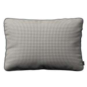 Poszewka Gabi na poduszkę prostokątna 60 x 40 cm w kolekcji Quadro, tkanina: 136-10