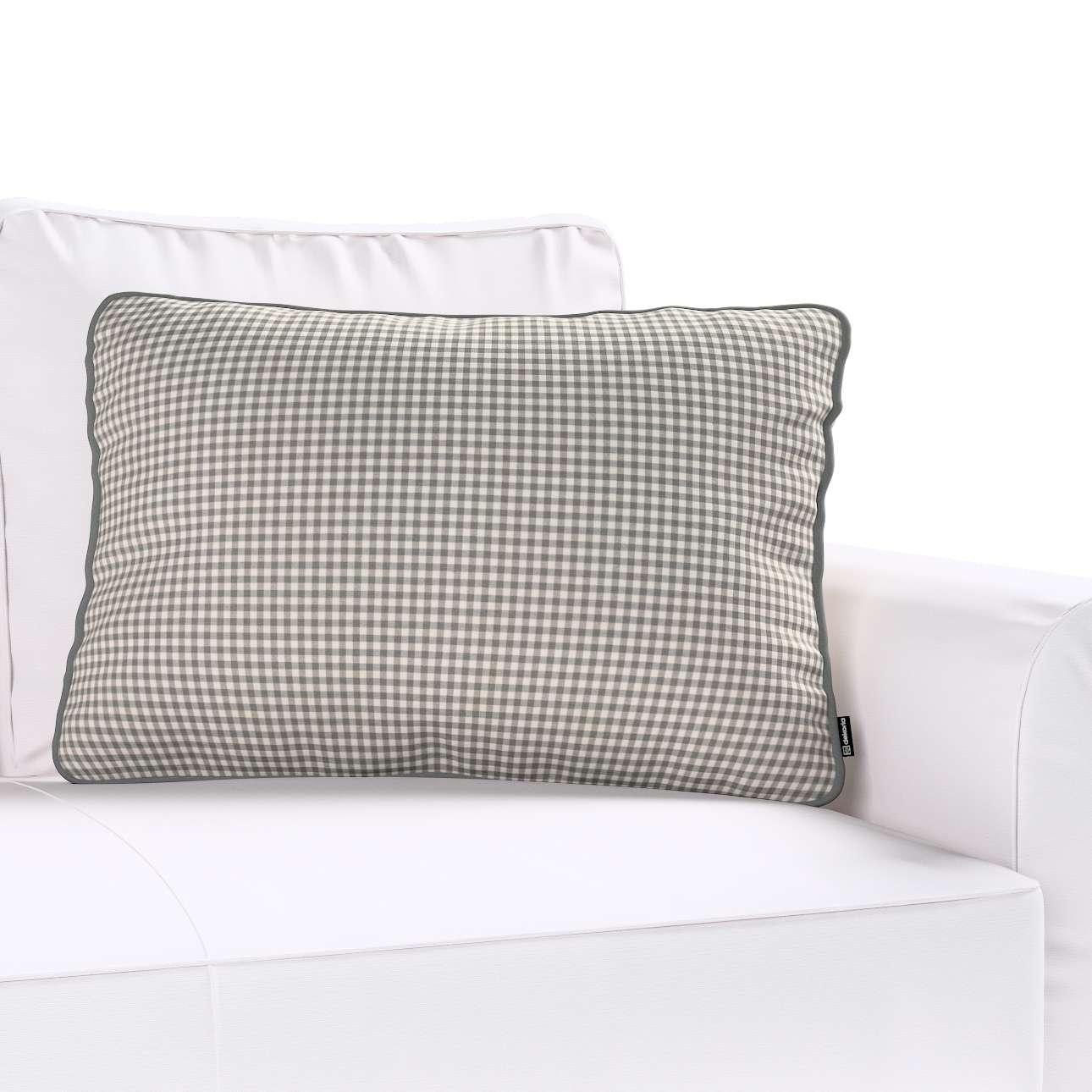 Poszewka Gabi na poduszkę prostokątna w kolekcji Quadro, tkanina: 136-10