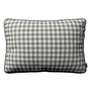 Poszewka Gabi na poduszkę prostokątna 60 x 40 cm w kolekcji Quadro, tkanina: 136-11
