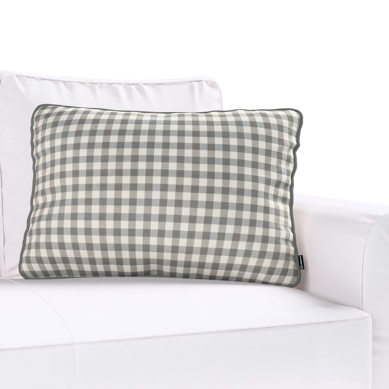 Poszewka Gabi na poduszkę prostokątna w kolekcji Quadro, tkanina: 136-11