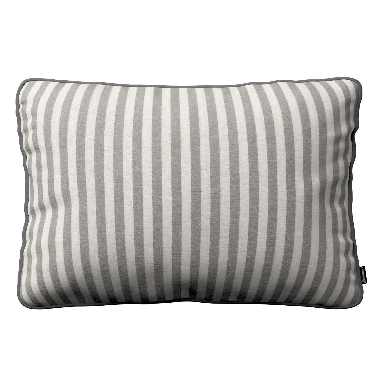 Poszewka Gabi na poduszkę prostokątna 60 x 40 cm w kolekcji Quadro, tkanina: 136-12