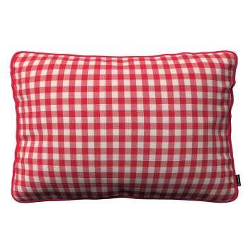 Poszewka Gabi na poduszkę prostokątna 60 x 40 cm w kolekcji Quadro, tkanina: 136-16