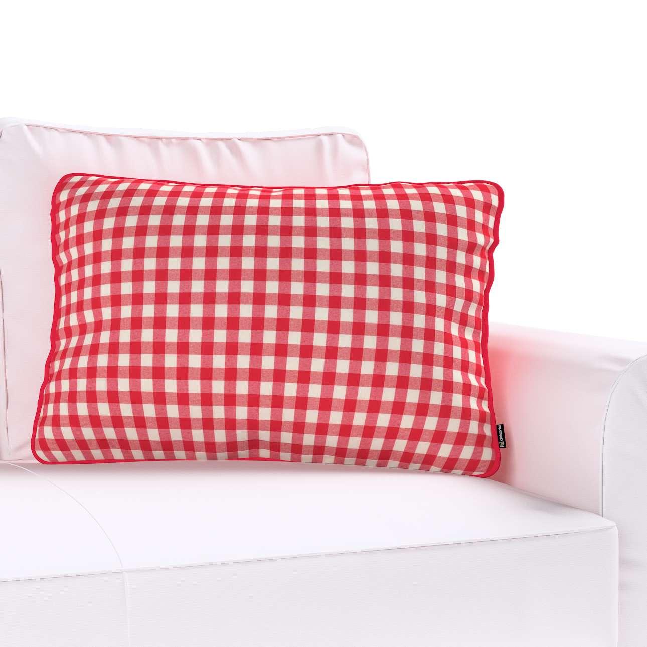 Poszewka Gabi na poduszkę prostokątna w kolekcji Quadro, tkanina: 136-16
