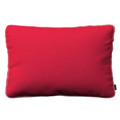 Poszewka Gabi na poduszkę prostokątna 136-19 czerwony Kolekcja Quadro