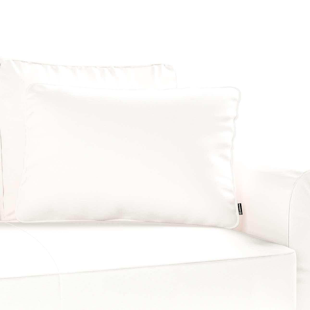 Poszewka Gabi na poduszkę prostokątna 60x40cm w kolekcji Cotton Panama, tkanina: 702-34