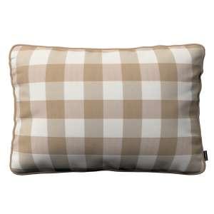 Poszewka Gabi na poduszkę prostokątna 60 x 40 cm w kolekcji Quadro, tkanina: 136-08