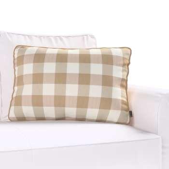 Poszewka Gabi na poduszkę prostokątna 60x40cm w kolekcji Quadro, tkanina: 136-08