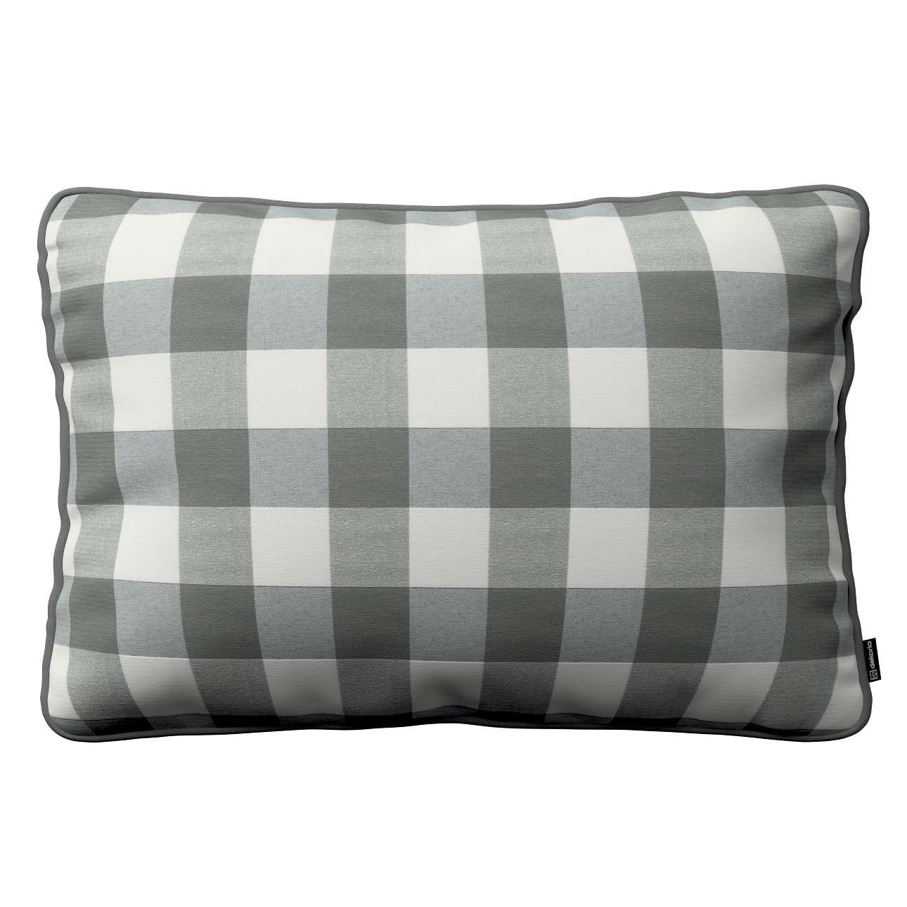 Poszewka Gabi na poduszkę prostokątna 60 x 40 cm w kolekcji Quadro, tkanina: 136-13