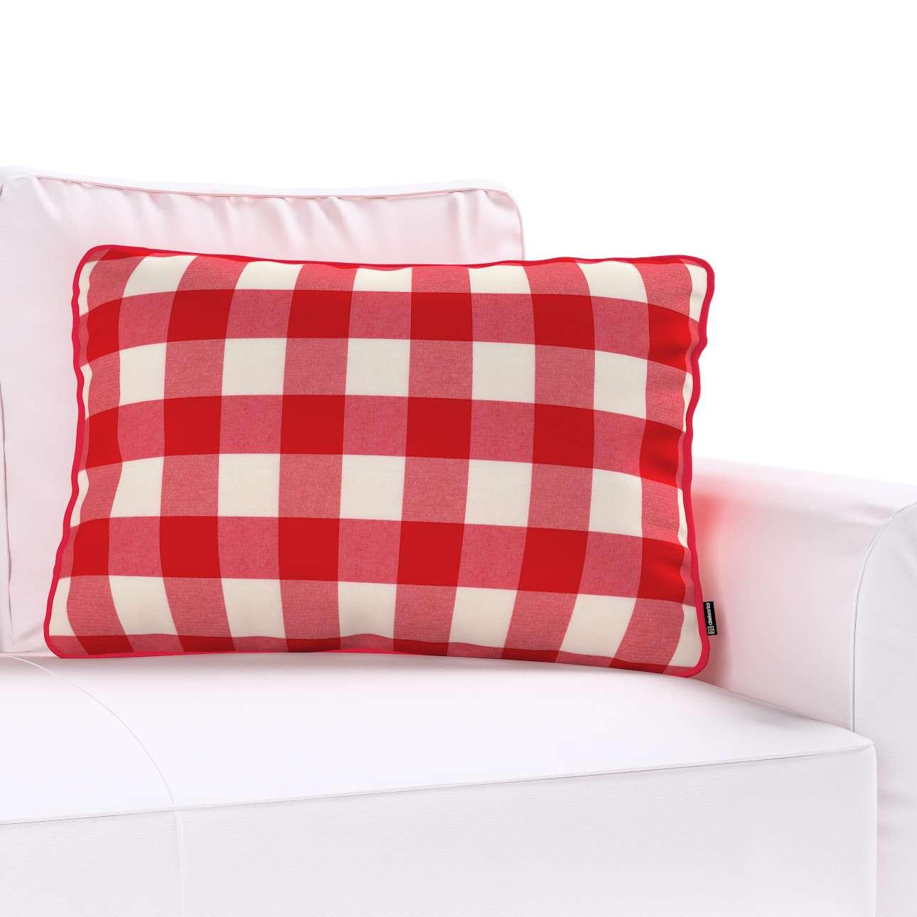 Poszewka Gabi na poduszkę prostokątna 60x40cm w kolekcji Quadro, tkanina: 136-18