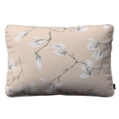 Poszewka Gabi na poduszkę prostokątna 311-12 magnolie na beżowym tle Kolekcja Flowers