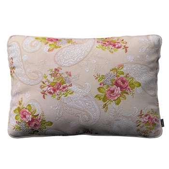 Poszewka Gabi na poduszkę prostokątna 60 x 40 cm w kolekcji Flowers, tkanina: 311-15
