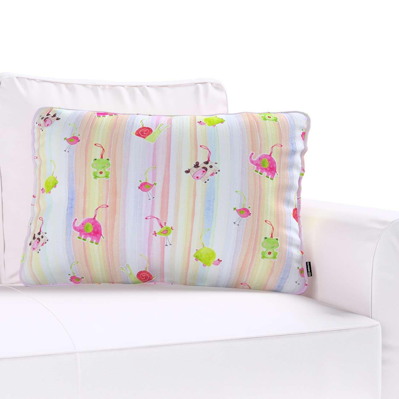 Poszewka Gabi na poduszkę prostokątna 60 x 40 cm w kolekcji Apanona do -30%, tkanina: 151-05