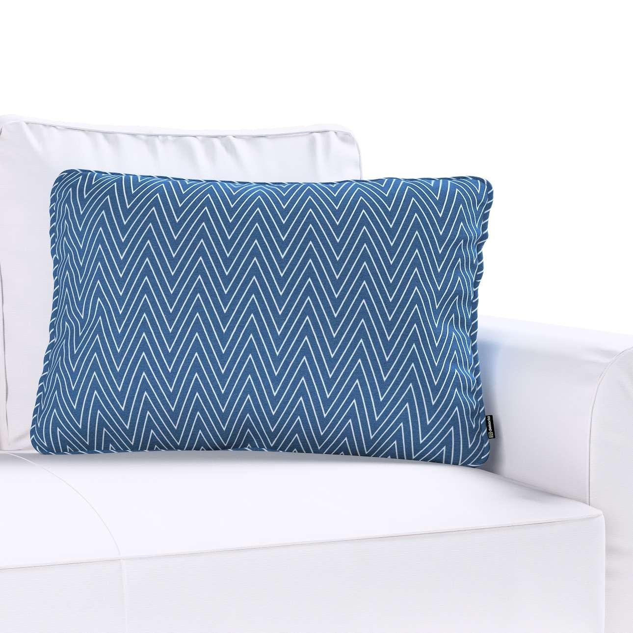 Poszewka Gabi na poduszkę prostokątna 60x40cm w kolekcji Brooklyn, tkanina: 137-88