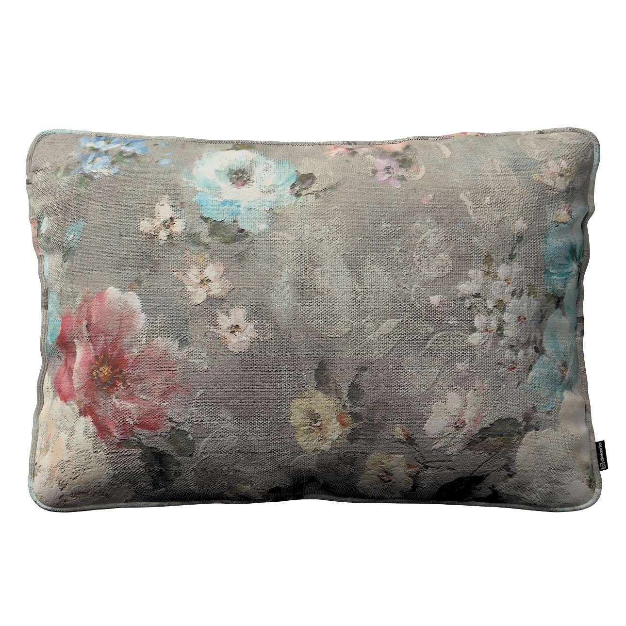 Gabi dekoratyvinės pagavėlės užvalkalas su specialia siūle 60x40cm 60 x 40 cm kolekcijoje Monet, audinys: 137-81