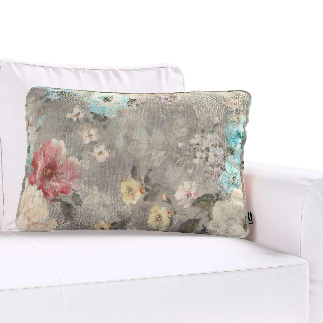 Gabi dekoratyvinės pagavėlės užvalkalas su specialia siūle 60x40cm 60 × 40 cm kolekcijoje Monet, audinys: 137-81