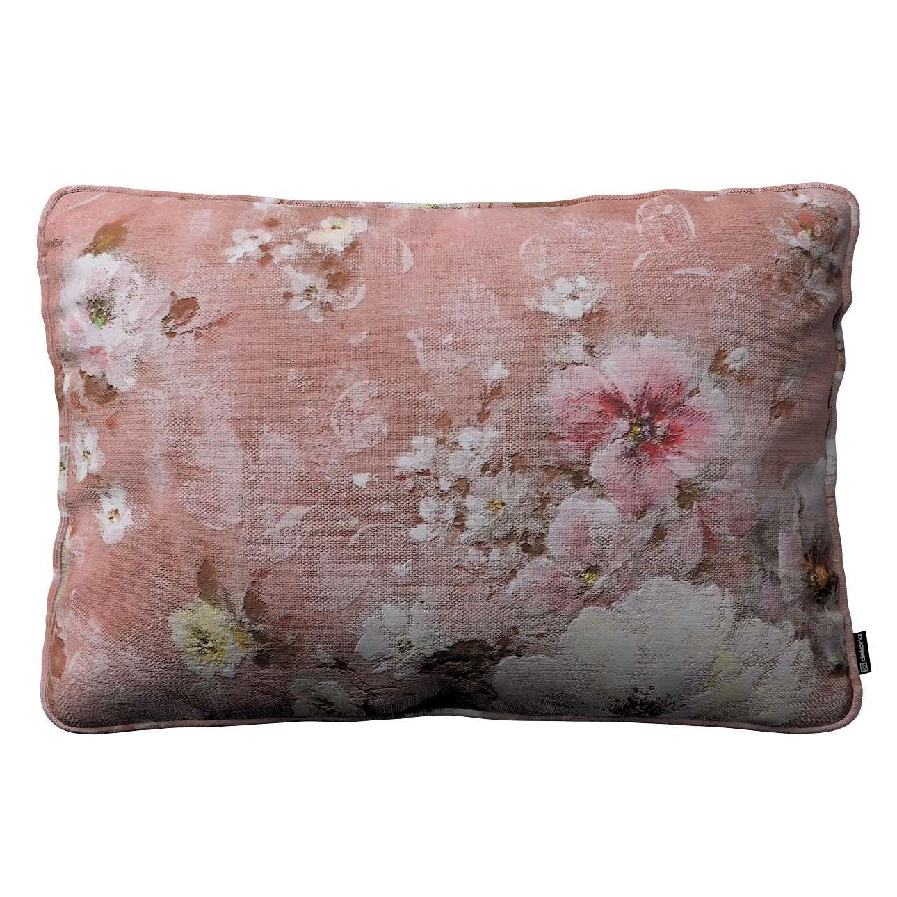 Poszewka Gabi na poduszkę prostokątna 60 x 40 cm w kolekcji Monet, tkanina: 137-83