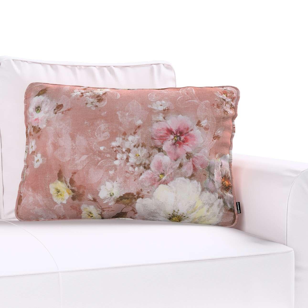 Gabi dekoratyvinės pagavėlės užvalkalas su specialia siūle 60x40cm 60 x 40 cm kolekcijoje Monet, audinys: 137-83