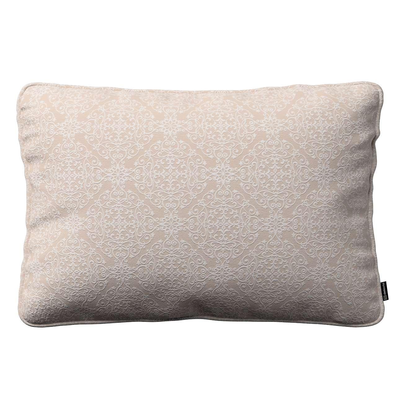 Poszewka Gabi na poduszkę prostokątna 60x40cm w kolekcji Flowers, tkanina: 140-39