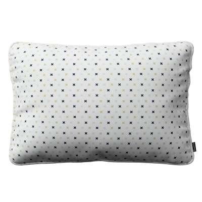 Gabi piped cushion cover 60x40cm 141-83 creme- black Collection Adventure