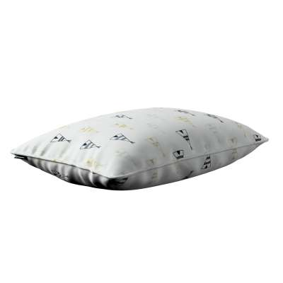 Gabi piped cushion cover 60x40cm 141-84 creme- beige and black Collection Adventure