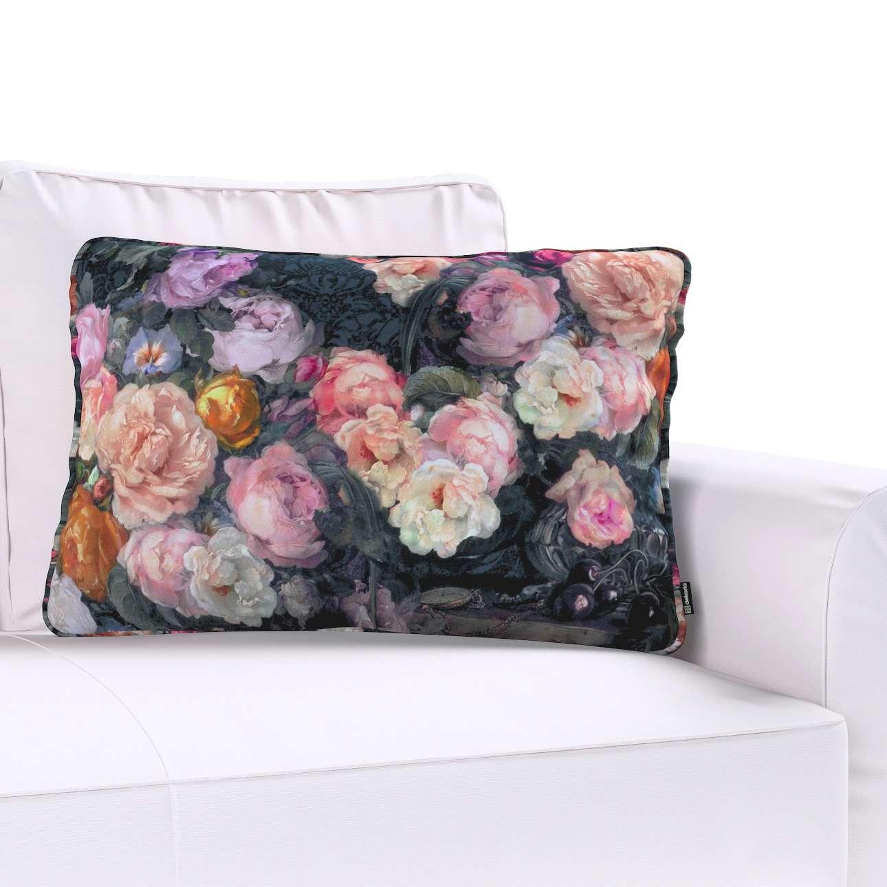 Poszewka Gabi na poduszkę prostokątna w kolekcji Gardenia, tkanina: 161-02