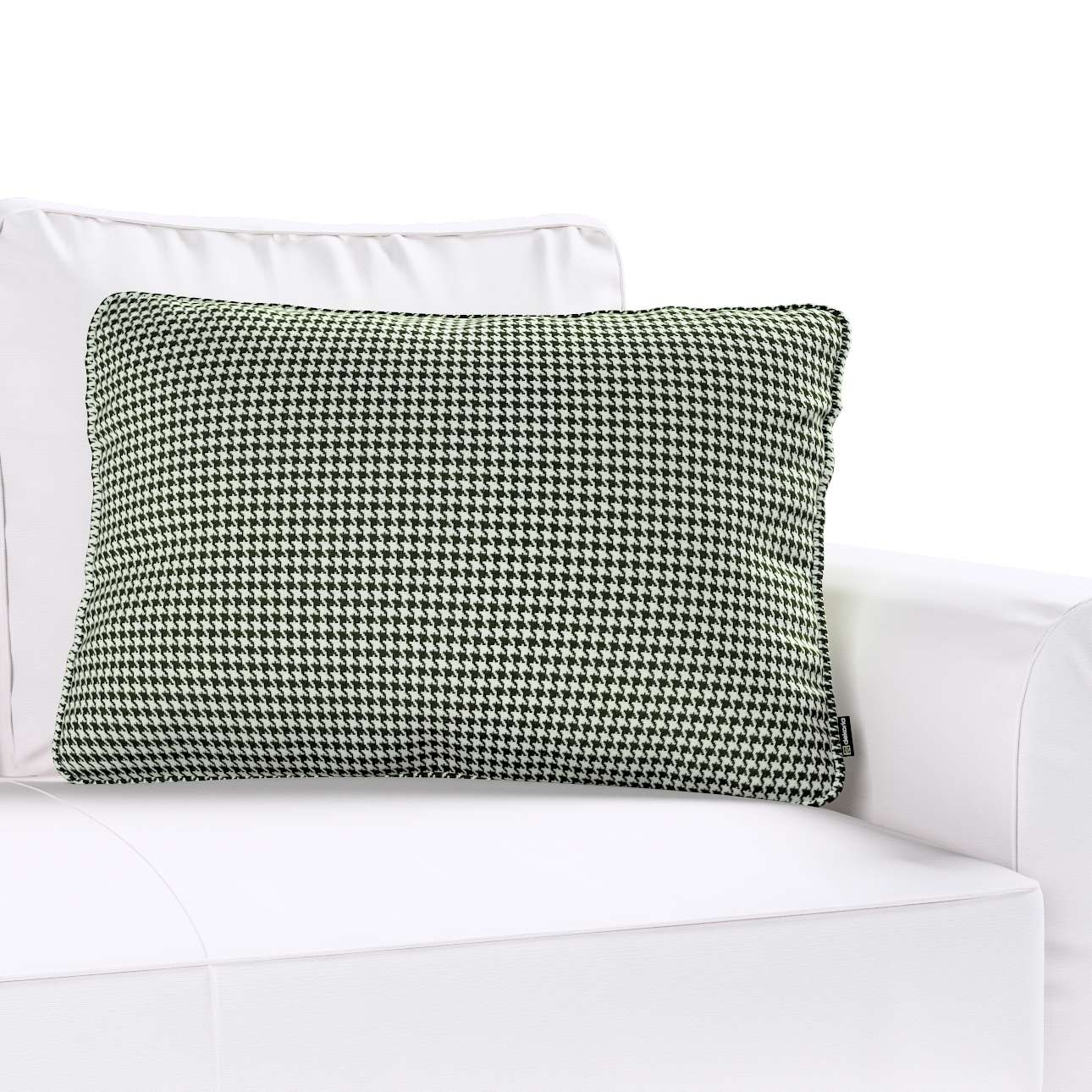 Poszewka Gabi na poduszkę prostokątna w kolekcji Black & White, tkanina: 142-77