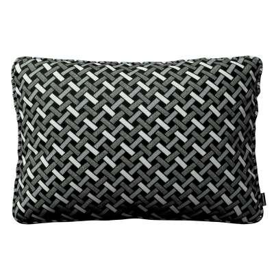 Poszewka Gabi na poduszkę prostokątna 142-87 czarno-biały Kolekcja Black & White