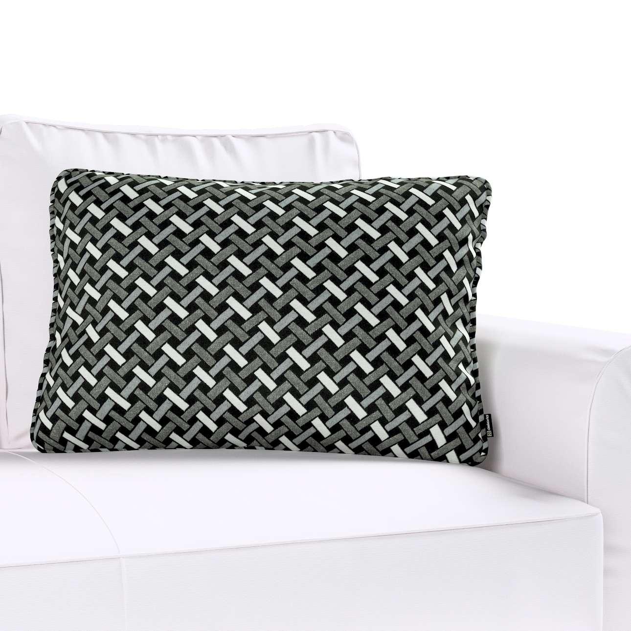 Poszewka Gabi na poduszkę prostokątna w kolekcji Black & White, tkanina: 142-87