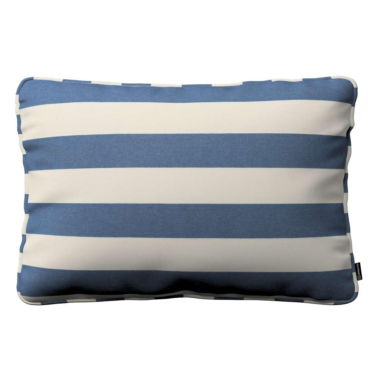 Poszewka Gabi na poduszkę prostokątna w kolekcji Quadro, tkanina: 142-70