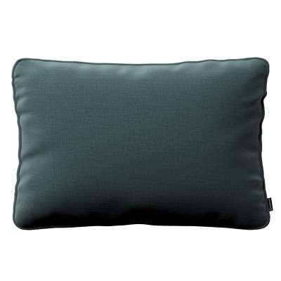 Poszewka Gabi na poduszkę prostokątna 705-36 zgaszony szmaragd - welwet Kolekcja Ingrid