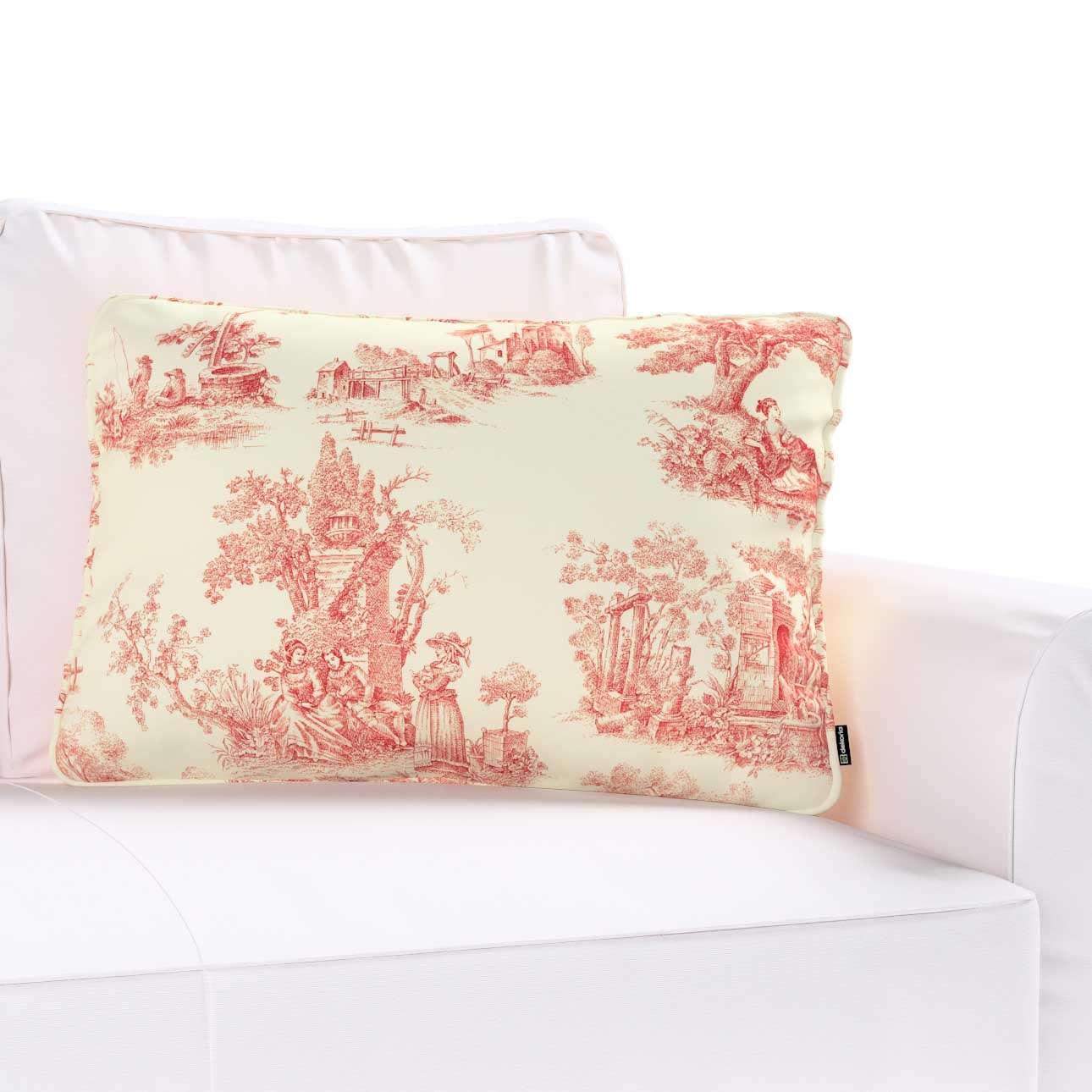 Poszewka Gabi na poduszkę prostokątna w kolekcji Avinon, tkanina: 132-15