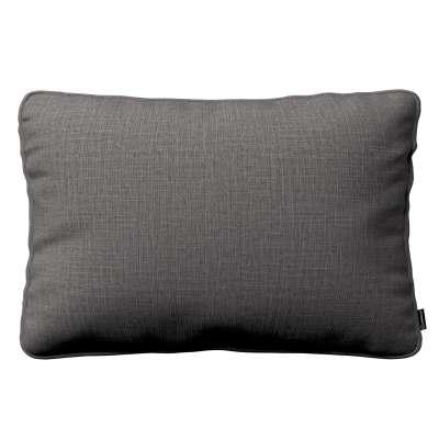 Poszewka Gabi na poduszkę prostokątna 161-16 ciemno szary Kolekcja Living II