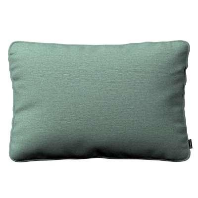 Poszewka Gabi na poduszkę prostokątna 161-89 szara mięta melanż Kolekcja Madrid