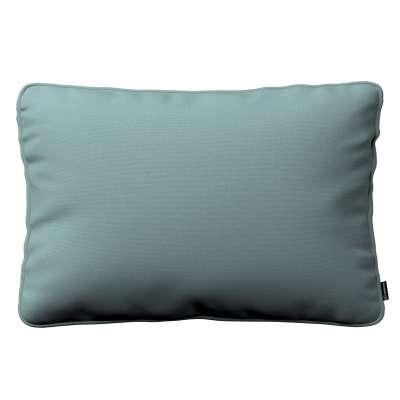 Gabi - potah na polštář šňůrka po obvodu obdélníkový 702-40 eukalyptová modrá Kolekce Cotton Panama