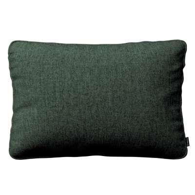 Poszewka Gabi na poduszkę prostokątna 704-81 leśna zieleń szenil Kolekcja City