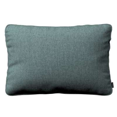 Gabi piped cushion cover 60x40cm 704-85 gray blue chenille Collection City
