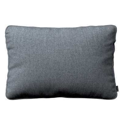 Gabi piped cushion cover 60x40cm 704-86 graphite - gray Collection City