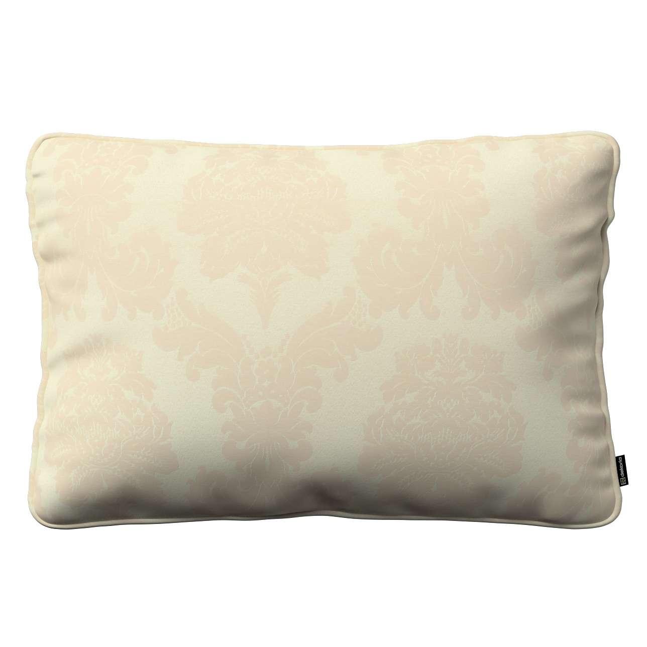 Poszewka Gabi na poduszkę prostokątna 60 x 40 cm w kolekcji Damasco, tkanina: 613-01