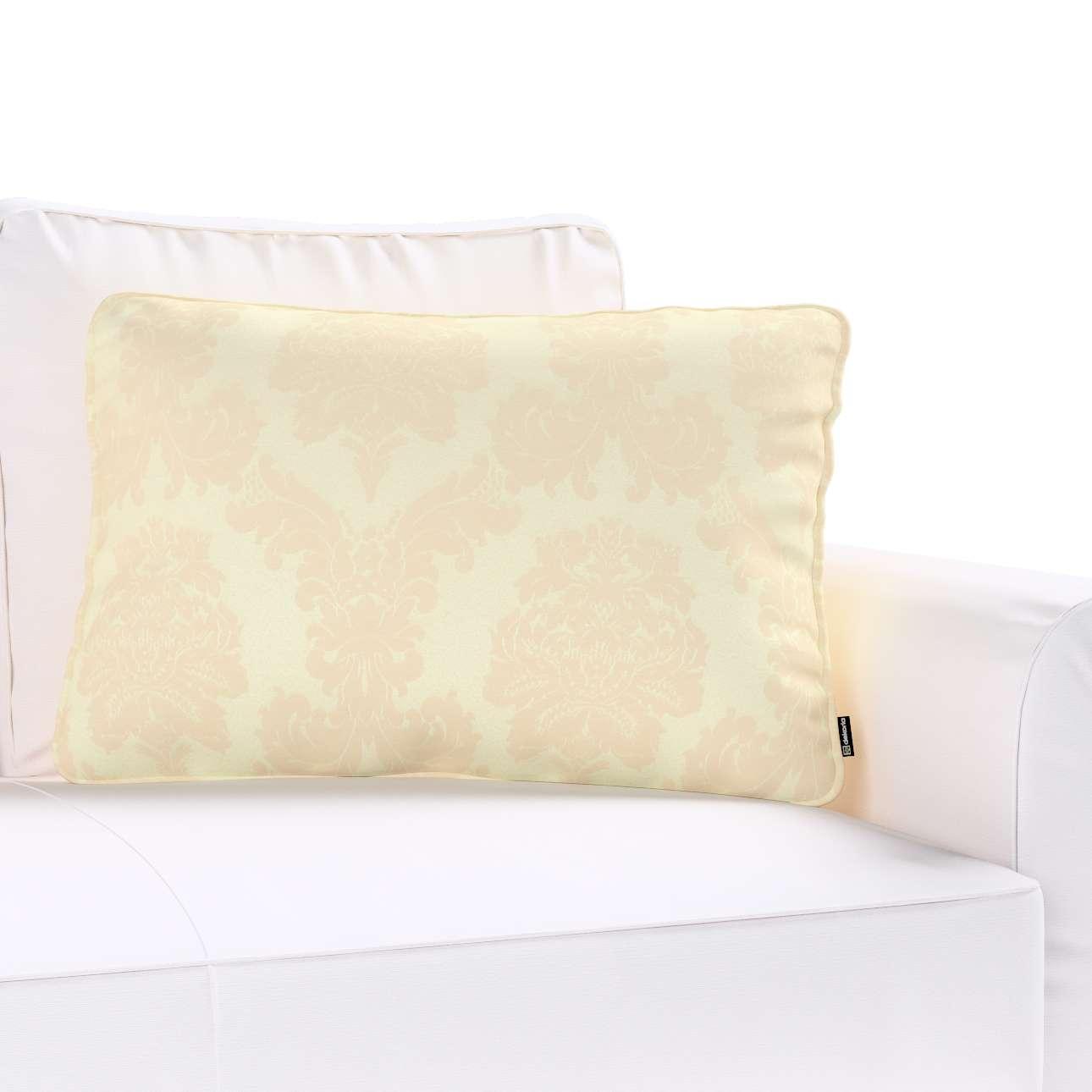 Poszewka Gabi na poduszkę prostokątna w kolekcji Damasco, tkanina: 613-01
