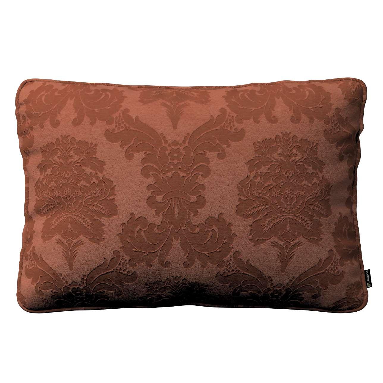 Poszewka Gabi na poduszkę prostokątna 60x40cm w kolekcji Damasco, tkanina: 613-88