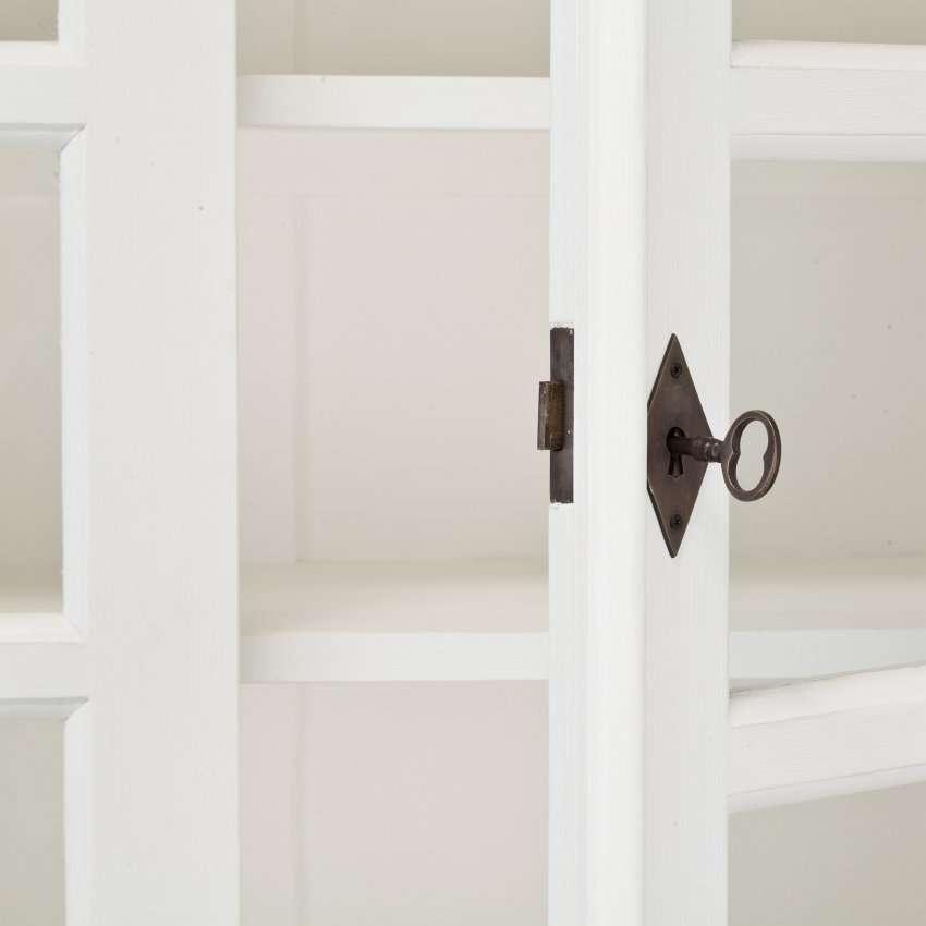 Witryna Milton z 4 półkami 100x40x220cm 100x40x220cm