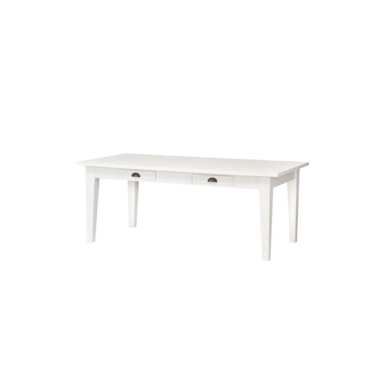 Stůl Milton white 200x100x78cm