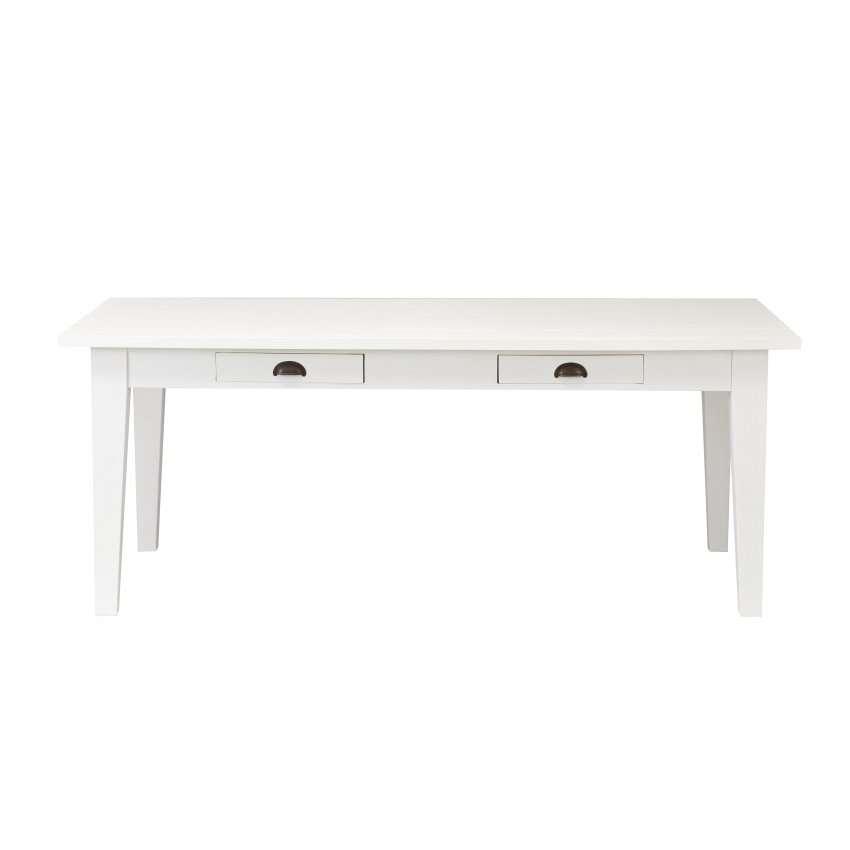 Tisch Milton white 200x100x78cm 200x100x78cm